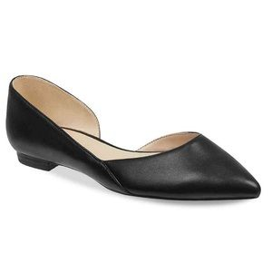 Marc Fisher Ltd Sunny4 D'Orsay Pointed Toe Flat